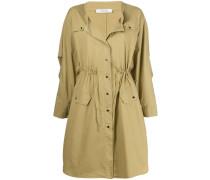 Mantel mit elastischer Taille