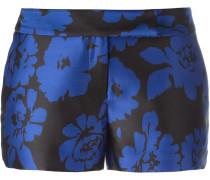 Shorts mit Blütenmuster