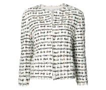 Tweed-Jacke mit Knopfverschluss - women