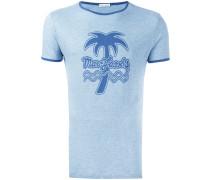 - T-Shirt mit tropischem Print - men - Baumwolle