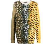 Pullover mit Safari-Print