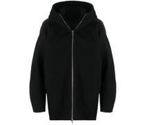 Oversized-Jacke mit Kapuze