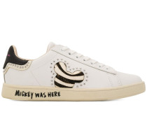 'Mickey was Here' Sneakers