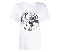 "T-Shirt mit ""Live your Dream""-Print"