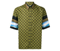 Hemd mit Schachbrettmuster