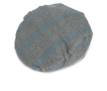 striped flat cap