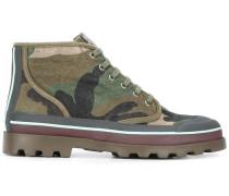 - Stiefel mit Camouflage-Print - men