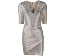 Texturiertes Metallic-Kleid