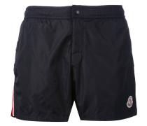 - striped trim swim shorts - men