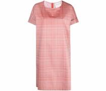Kariertes Kleid mit lockerem Schnitt