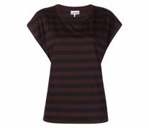stripe pattern T-shirt