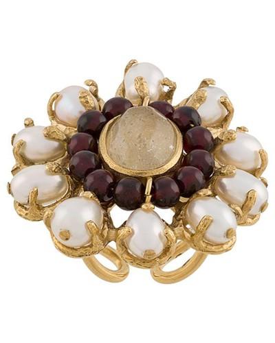 'Perle Baroque' Ring