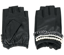 K/Chain fingerless gloves