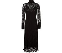 Kleid mit Spitzenlage