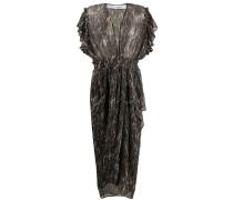 Kleid mit Volant-Ärmeln