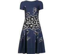 Florales Kleid mit kurzen Ärmeln - women