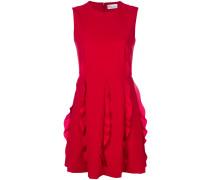 frill panel mini dress