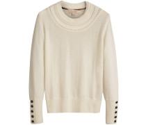 Pullover mit Logo-Knöpfen