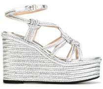 - Sandalen mit Pleateausohle - women