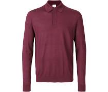 Pullover im Poloshirt-Look