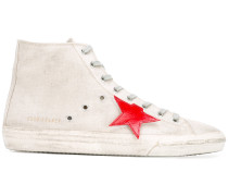 Distressed-Sneakers mit Stern-Patches - men
