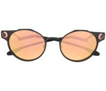 Runde 'Deadbolt' Sonnenbrille