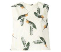 Top mit Ananas-Print - women - Baumwolle - 38