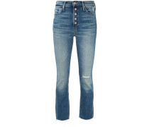 'The Pixie Dazzler' Cropped-Jeans