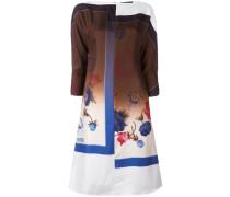 - Seidenkleid mit Blumen-Print - women