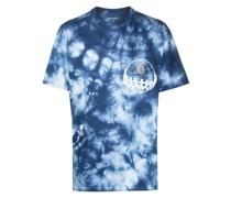 Joint T-Shirt mit Batikmuster