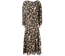Kleid mit Blumen-Print - women - Seide/Viskose