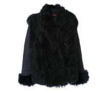 Shearling-Jacke mit Schalkragen