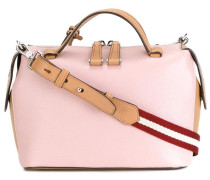 Handtasche mit gestreiftem Riemen