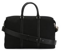 Handtasche mit Lederborten