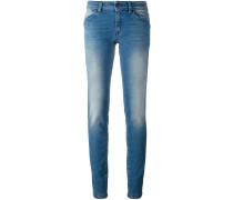 Skinny-Jeans mit Farbverlauf