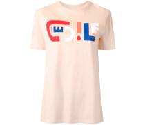 Lockeres T-Shirt mit Logo