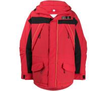 Gefütterte Oversized-Jacke
