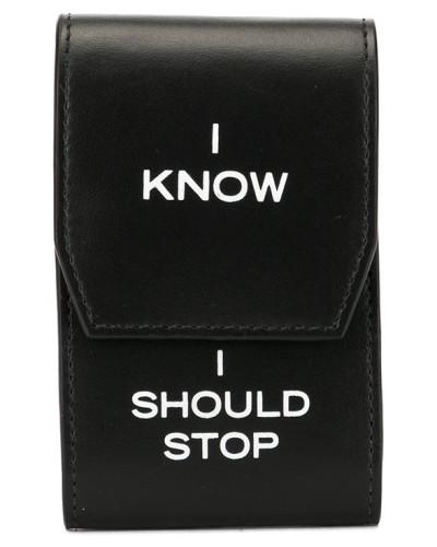 'I Know I Should Stop' Portemonnaie