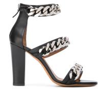 Sandalen mit Kettenborten