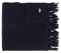Schal mit Logo-Stickerei