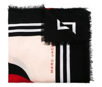 'Monogram' Schal mit Blumenmotiv