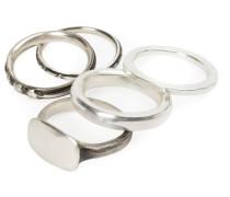 Set aus 5 Ringen