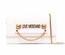 logo-plaque crossbody bag