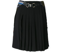 pleated Cityscape skirt