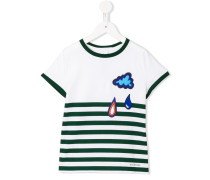 Gestreiftes T-Shirt mit Patches - kids