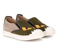 'Bag Bugs' Sneakers - kids - Leder/Calf