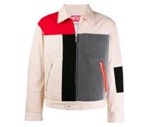 Jacke in Colour-Block-Optik