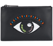 Clutch mit Auge-Stickerei - women