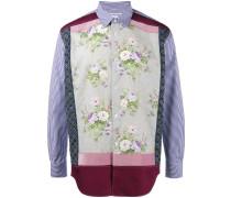 Floral patchwork shirt