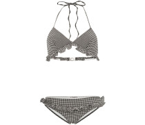 Bikini mit Vichy-Karo